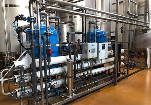 Vízelőkészítő berendezés - RO szűrő