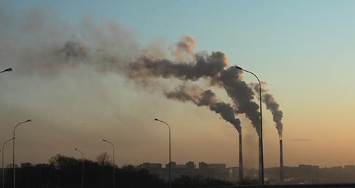 Káros anyag kibocsájtás gyárból