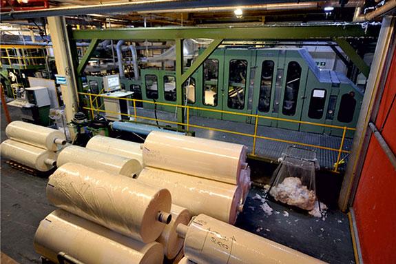 Ipari textil abszorber