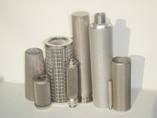 Rozsdamentes acél szűrőbetétek