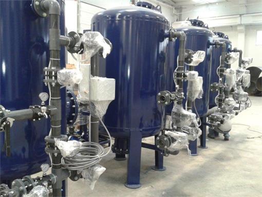 Acél tartályok vízelőkészítő berendezéshez