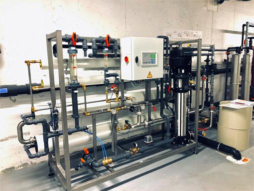 RO vízelőkészítő berendezés