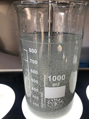 Szennyvízkezelési laborkísérlet