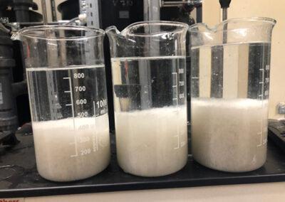 Laborkísérlet szennyvíztisztítő berendezés tervezéséhez