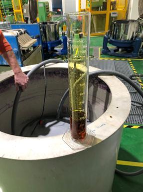 Víztisztítás kísérleti modellezése - próbaüzem
